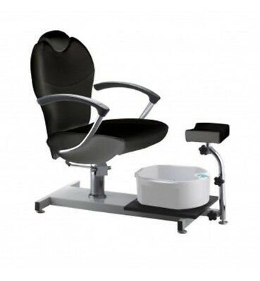 Pedicure Foot Spa Chair Hydraulic Spa Station With Foot Rest New Basin Reclining