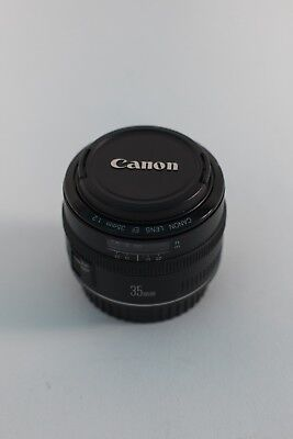 Canon EF 35mm f/2 FD Lens Excellent Condition