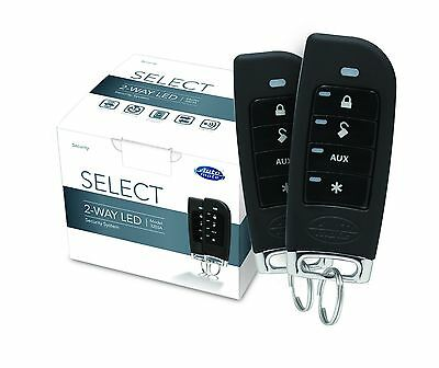 Automate Car Security Alarm System w/ 4 button 2 Way LED New 3203A