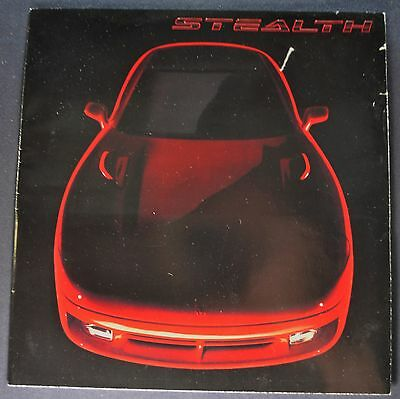 1991 Dodge Stealth Sales Brochure Folder Nice Original 91