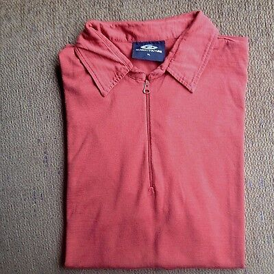 Global Culture Mens Merino Wool Polo Shirt Size Xl Excellent Condition