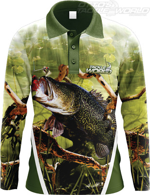 Tackle World Angler Series Murray Cod Men's Shirt BRAND NEW @ Ottos
