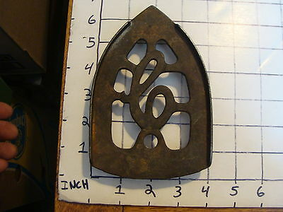 Original Vintage CAST IRON TRIVET 1800'S or early 1900's #14