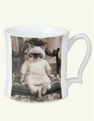 Victorian Trading Co Himalayan Cat Florence Donna Sanna Bone China Mug