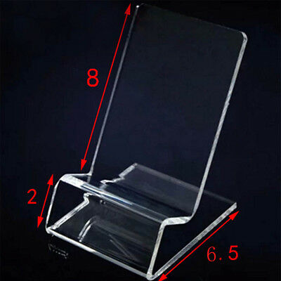 Cellphone Stand 1PC For Mobile Cellphone Display Stand Universal Clear Acrylic