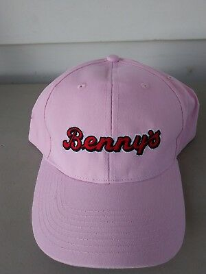 Benny's Store Genuine Authentic Advertising Collectible Baseball Cap Hat Pink