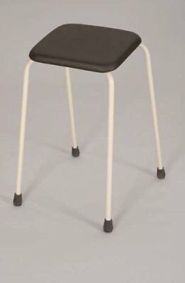 Homecraft Sherwood Perching Shower Chair. 61cm Height. Padded Mobility Aid Stool