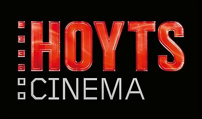 2 x Hoyts Movie Tickets eVoucher General Admission (Adult) - Expiry 30 June 2018