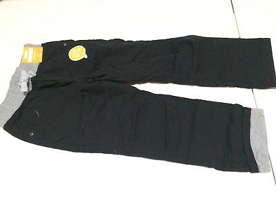 NWT Gymboree Boys Pull on Pants Jersey Lined Black 2T,3T,4T,5T,4,5,6,7,8,10,12