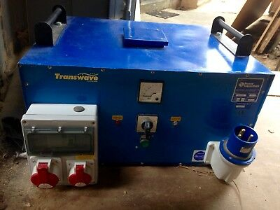Transwave Rotary Converter 10hp/7.5kw - Single Phase To 3 Phase