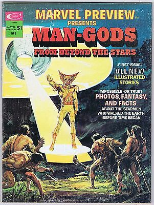 MARVEL PREVIEW PRESENTS MAN-GODS FROM BEYOND THE STARS #1- Neal Adams, Alex Nino