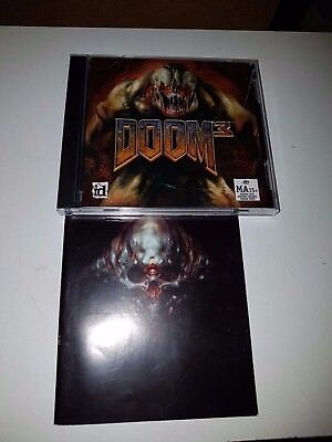 DOOM 3 PC CD Rom Game IN VERY GOOD CONDITION