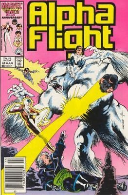 Alpha Flight #44 Vol.1 Vf/nm (X-Men)