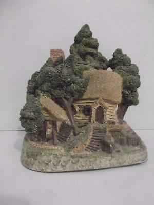 "1985 David Winter Cottages Hermits Humblehome Hand Painted 5.5"" Tall"