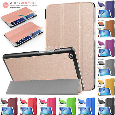 "Stand Cover 2017 Smart Folio Folding Case Tab For Huawei MediaPad T3 7.0"" 8"" 10"""