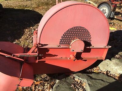 Jacobson 3 point leaf blower