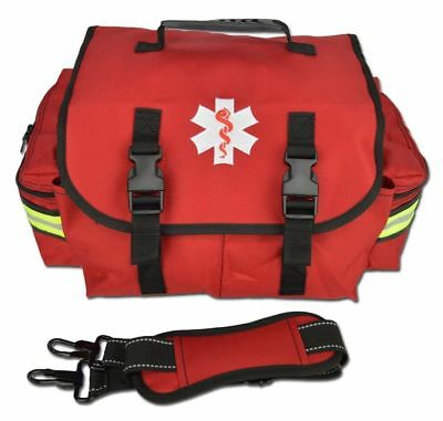 RED Lightning X Small First Responder Bag w/ Dividers, Medical Trauma First Aid
