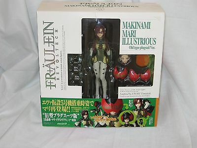 Fraulein Revoltech No. 020 Makinami Mari Illustrious Old Plug Suit New Opened