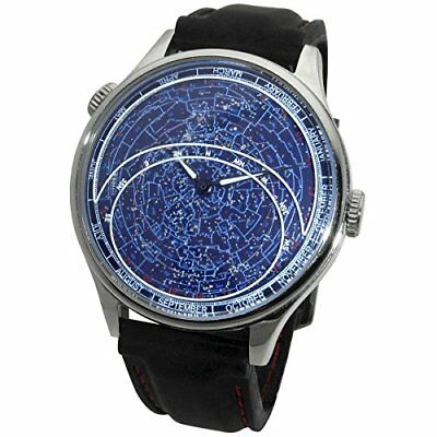 NEW Constellation Watch Planisphere and Astronomy Celestial Timepiece No Tax