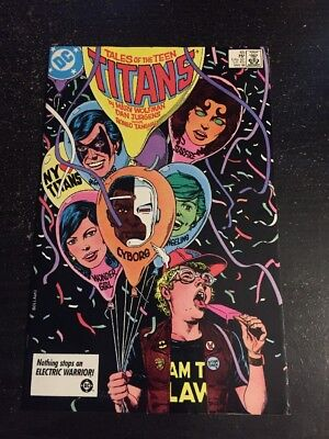 Tales Of Teen Titans#65 Incredible Condition 8.5(1986) Jurgens Art!!