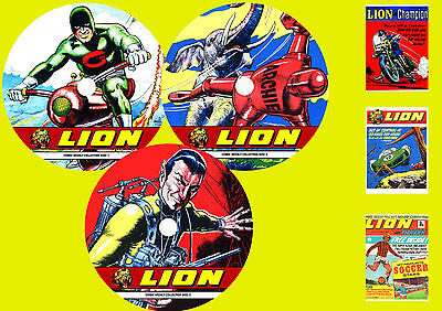 Lion Comic Weekly On 3 DVD ROMS