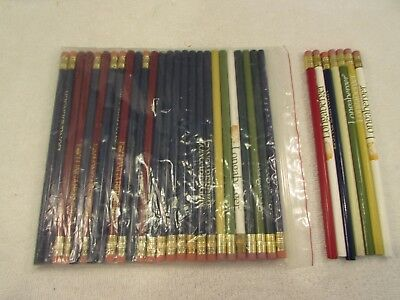 New Longaberger Pencils Lot of 32 Mixed Colors