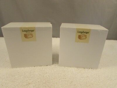 New Longaberger Post It Notes Pads  Set of 2