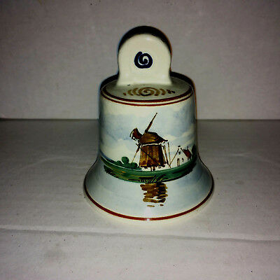 Gouda,  A lovely Dinner Bell, Made in Holland, Mint