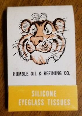 Humble Oil & Refining Co. Silicone Eyeglass Tissues NOS