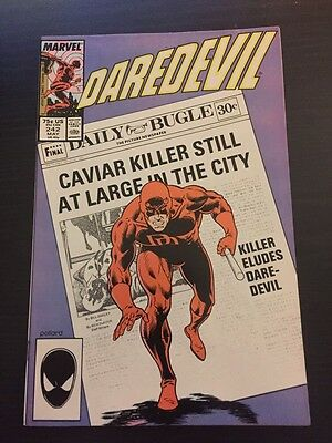 Daredevil #242 Incredible Condition 9.4 (1987) Pollard Art!
