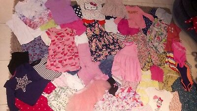 Girls Clothing Bundle Age 4-5 Various Brands