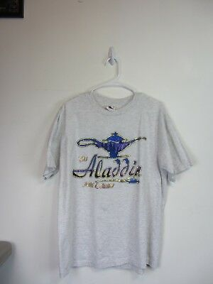 Aladdin Hotel & Casino, Las Vegas Adult XL colorful T-shirt