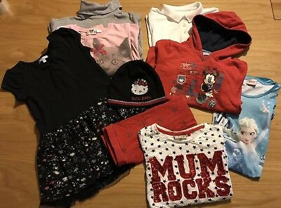 4. Bundle Girl Clothes Age 7-8 Next H&m Disney Free Postage