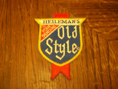 Colorful Heileman's Pure Genuine Old Style Beer Patch   (Put On )  Shirt  Hat