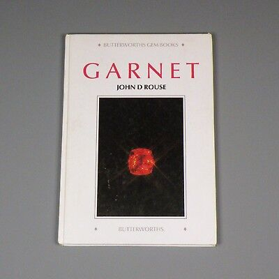 1986 book - Garnet mineralogy and history - Butterworths Gemology Series - Rouse