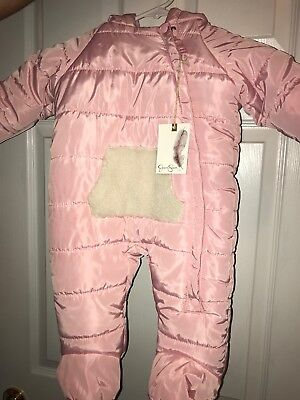 Jessica Simpson Baby Clothes Interesting JESSICA SIMPSON BABY Snowsuit Winter Coat 6060 Months Baby Clothes