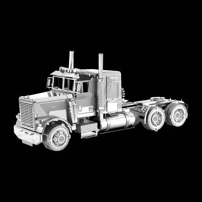 Metal Earth Freightliner FLC Long Nose Truck DIY laser cut 3D steel model kit