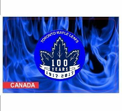 2017 Toronto Maple Leafs® 100Th Anniversary Coloured 2 Coins