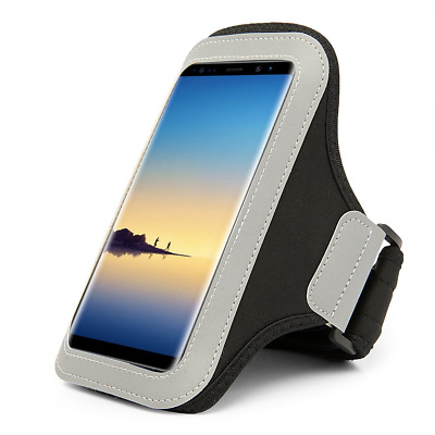 Premium Workout GYM Armband Pouch for Samsung Galaxy Note 8 / S8 / S8 Plus