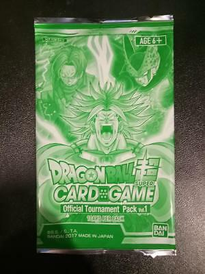 Dragon Ball Super Card Game Unopened Tournament Pack 1 - Promo