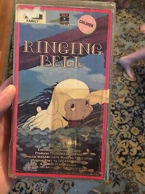 Ringing Bell vhs The Bell of Chirin   Sanrio 1983 mint ultra rare anime