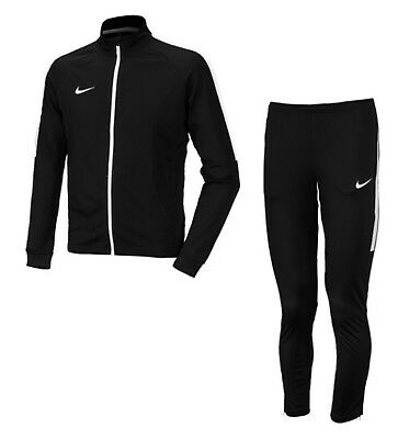 Nike Youth Dry Academy Training Suit Soccer Black Kid Jackets Pants 844714-011