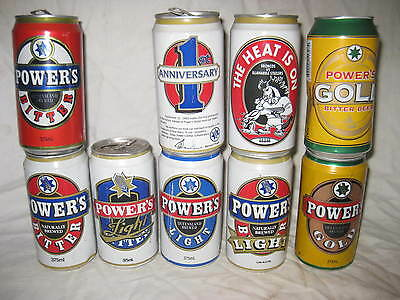 Power's beer cans
