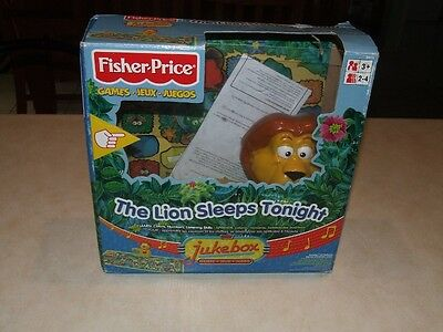 Fisher Price The Lion Sleeps Tonight Game