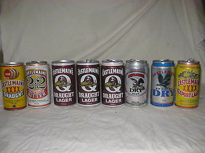 XXXX beer cans