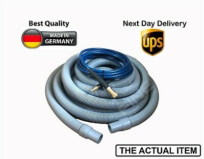 GENUINE CARPET CLEANING HOSE 50ft/15m (NEW)SOLUTION AND VACUUM HOSE/PIPE PROCHEM