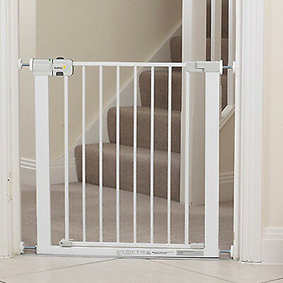 Baby Safety Gate Door Pressure Fit Stair Barrier Fence Dog Pet Child Protection