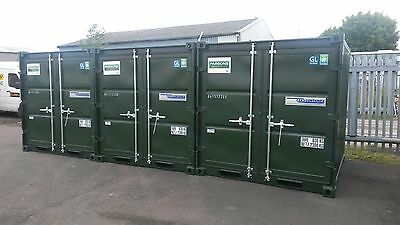 8Ft X 7Ft New Build Steel Storage Shipping Containers - Nationwide **£1395+Vat**