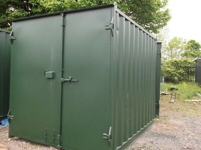 """10FT x 8FT x 8FT 6"""" USED STEEL SHIPPING CONTAINERS - NATIONWIDE ***£1095+VAT***"""