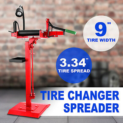 Tyre Spreader On Pedestal Floor Mount Car Light Truck Tire Changer Manual Repair
